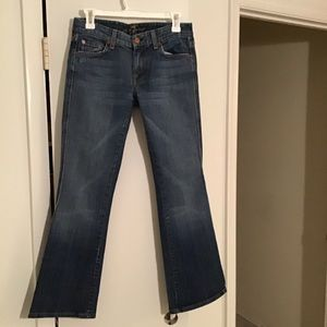 7 For All Mankind Woman's A Pocket Stretch Jeans